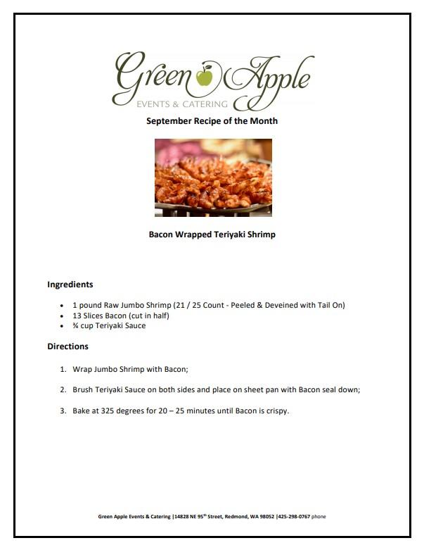 september recipe